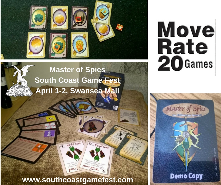 Master of SpiesSouth Coast Game FestApril 1--2, Swansea Mall