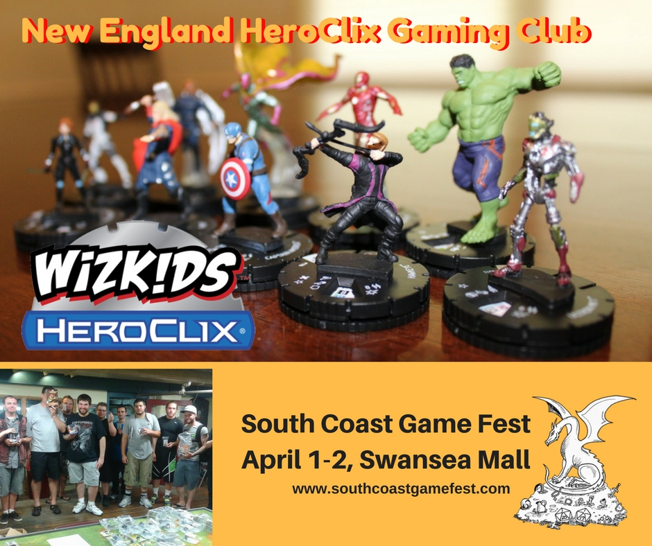 New England Heroclix Gaming Club